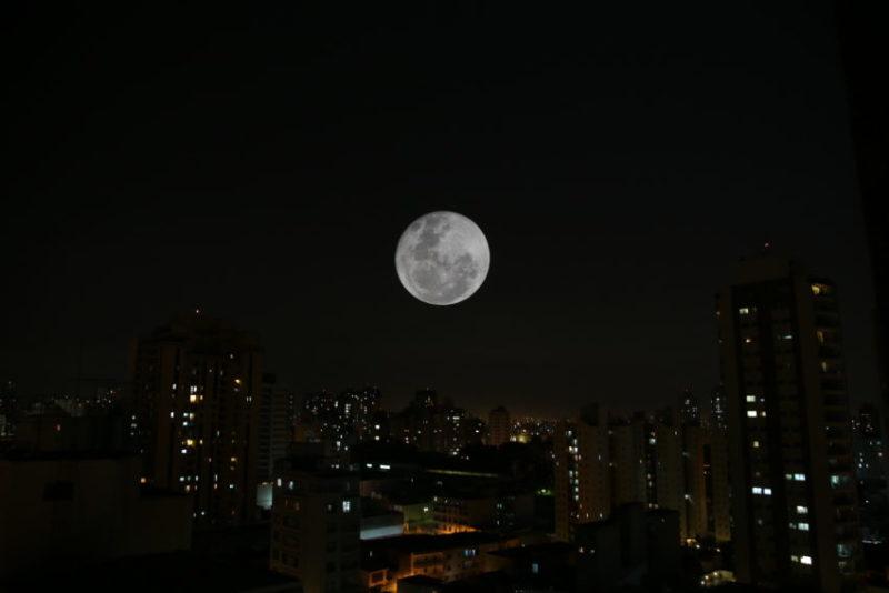 Superlua em São Paulo