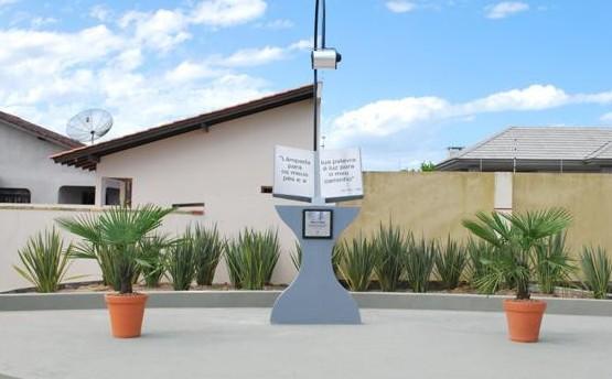 Praça da Bíblia, em Tijucas – Foto: Divulgação/Esmael Silva/Prefeitura de Tijucas