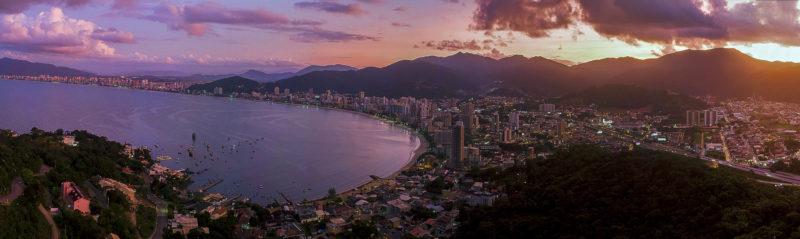 Vista da Praia do Centro – Foto: Prefeitura de Itapema/Divulgação