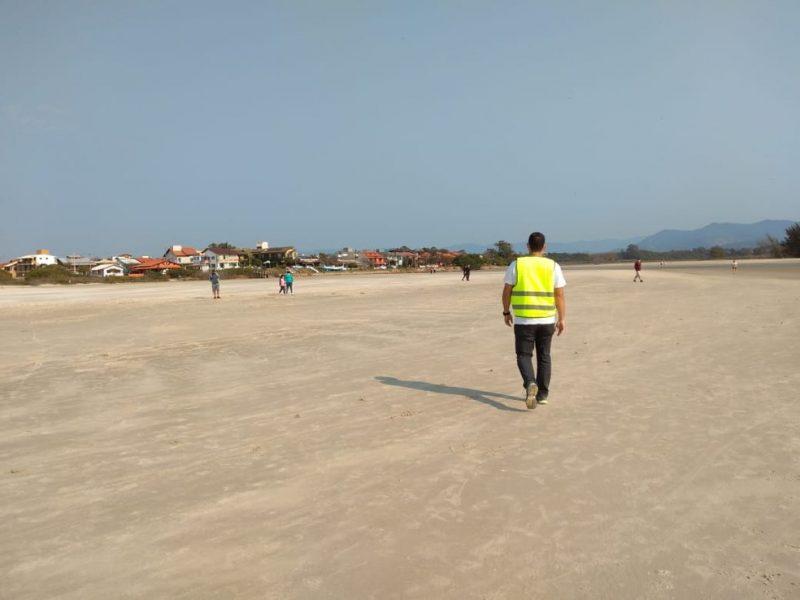 Praias de Imbituba estão fechadas durante o feriado – Foto: Prefeitura de Imbituba/Divulgação