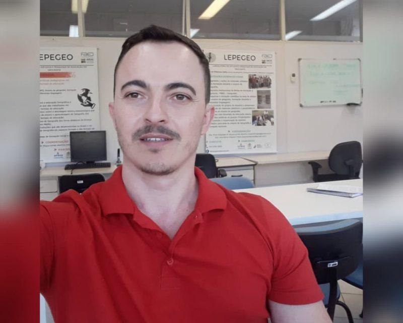 Professor Robson Paim é encontrado morto dentro de casa em Abelardo Luz – Foto: Arquivo pessoal/Divulgação ND