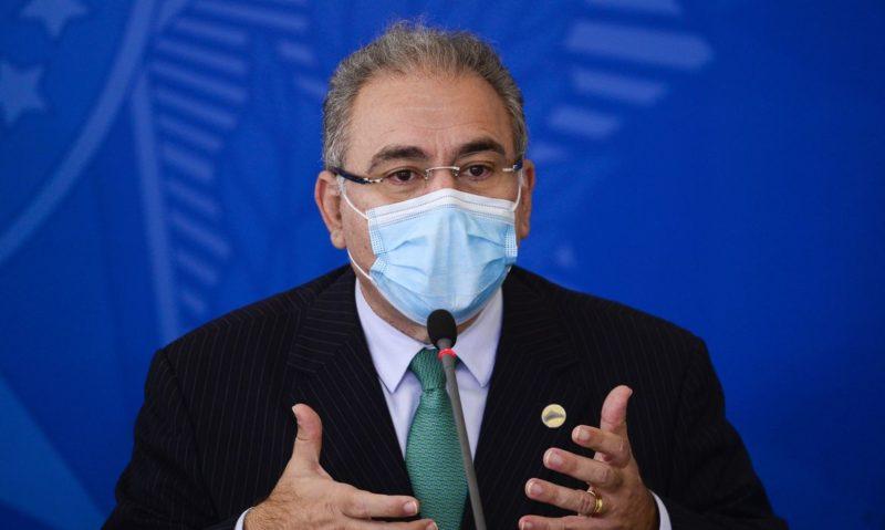 O ministro da Saúde, Marcelo Queiroga, se mostrou confiante para o fechamento do acordo – Foto: Marcelo Camargo/Agência Brasil/Divulgação/ND