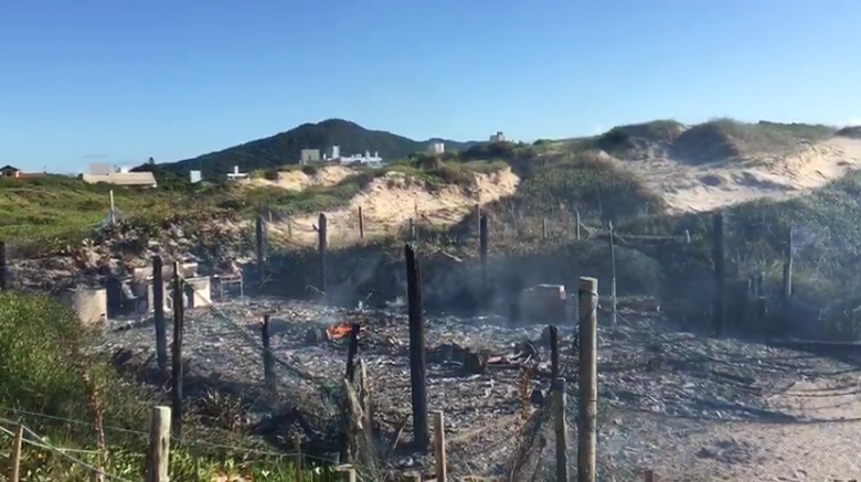 Um boletim deve ser aberto para verificar as causas do incêndio – Foto: GMF/Divulgação/ND