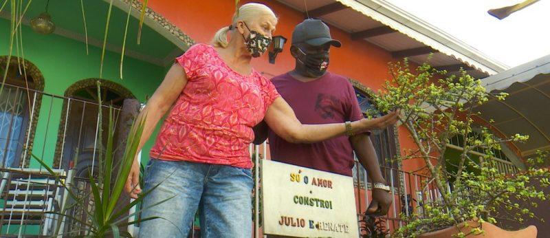 """Renate acompanhou com angústia a luta de Julio e agora o casal só quer """"viver a vida"""" – Foto: Gladionor Ramos/NDTV"""