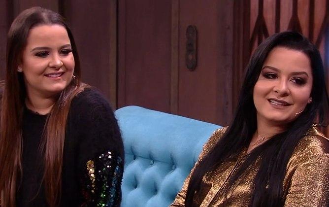 As cantoras sertanejas Maiara e Maraísa também mudaram bastante o visual depois da fama; veja a seguir – Foto: R7/Reprodução/ND