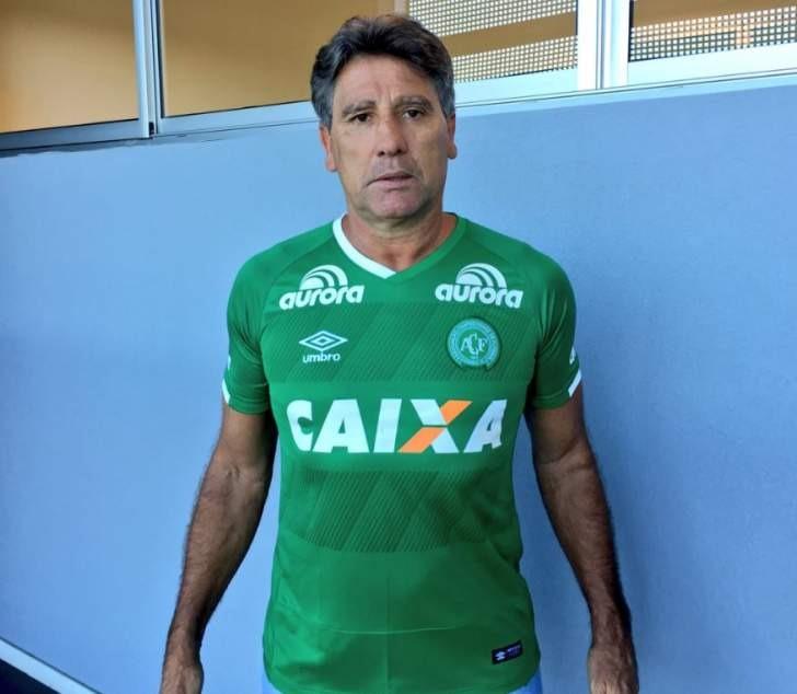 Chapecoense negou o interesse em Renato Portaluppi – Foto: Lucas Uebel/Grêmio