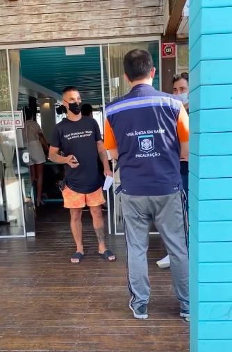 Restaurante em Florianópolis é interditado duas vezes no mesmo fim de semana – Foto: Reprodução/Redes sociais/ND