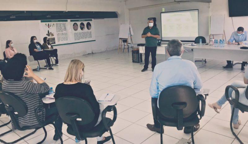 Reunião ocorreu na manhã desta terça-feira (20) em Chapecó – Foto: Prefeitura de Chapecó/Divulgação/ND