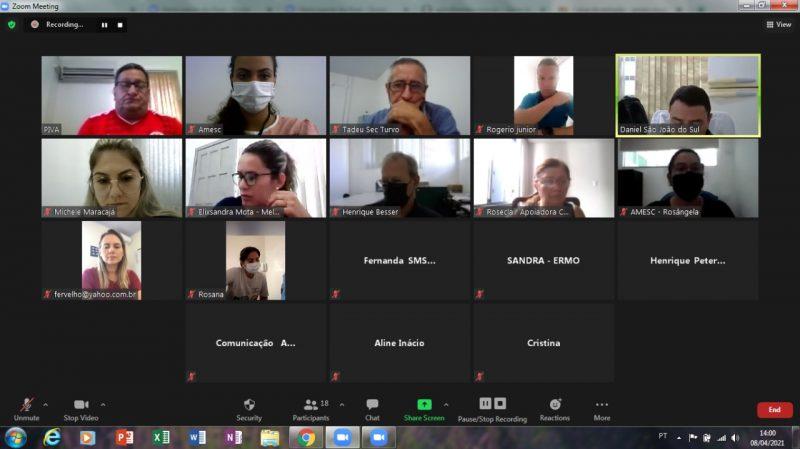 Reunião prefeitos Amrec – Foto: Divulgação
