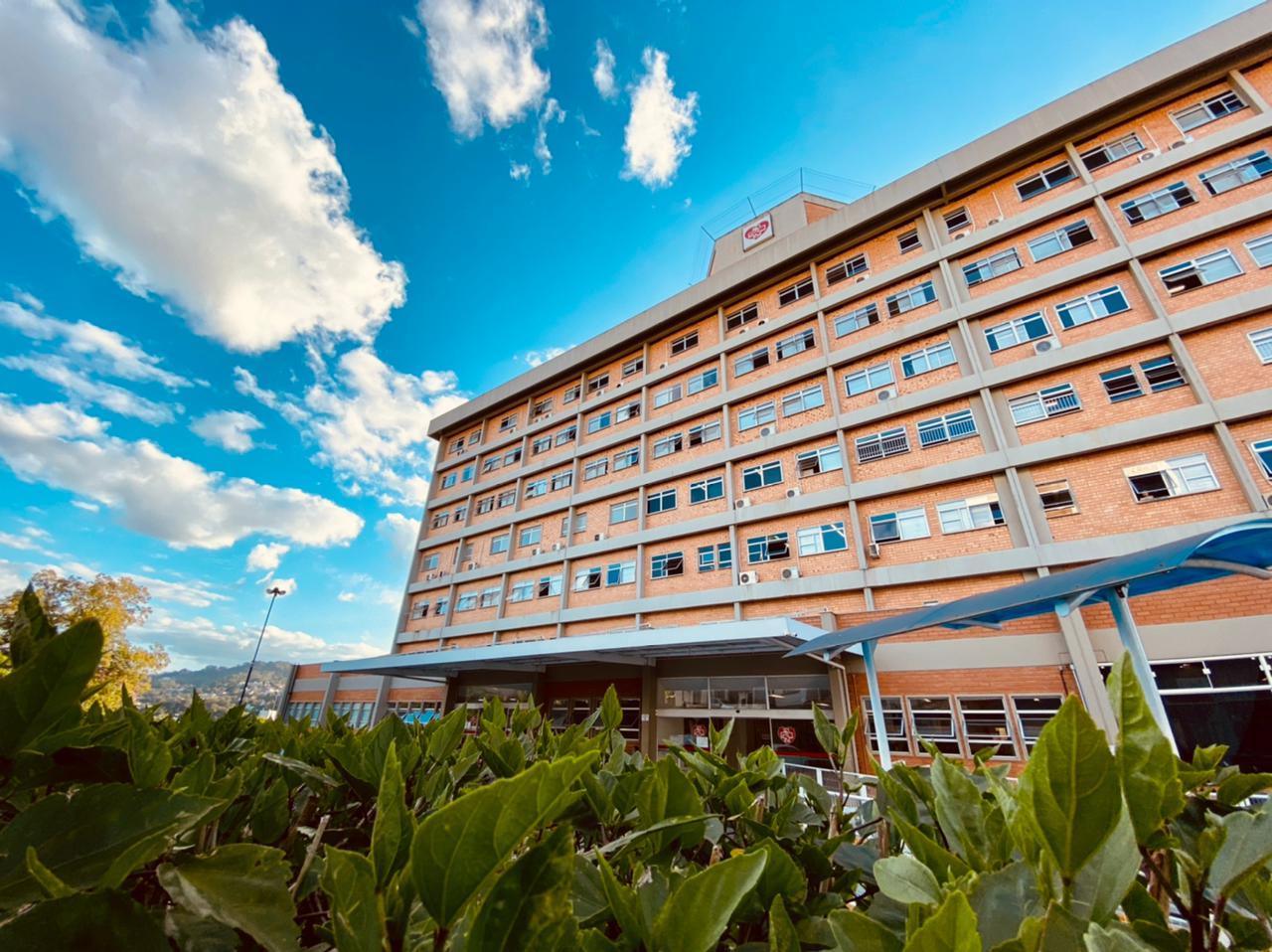Hospital Regional do Alto Vale, em Rio do Sul - Moisés Stuker / NDTV Blumenau