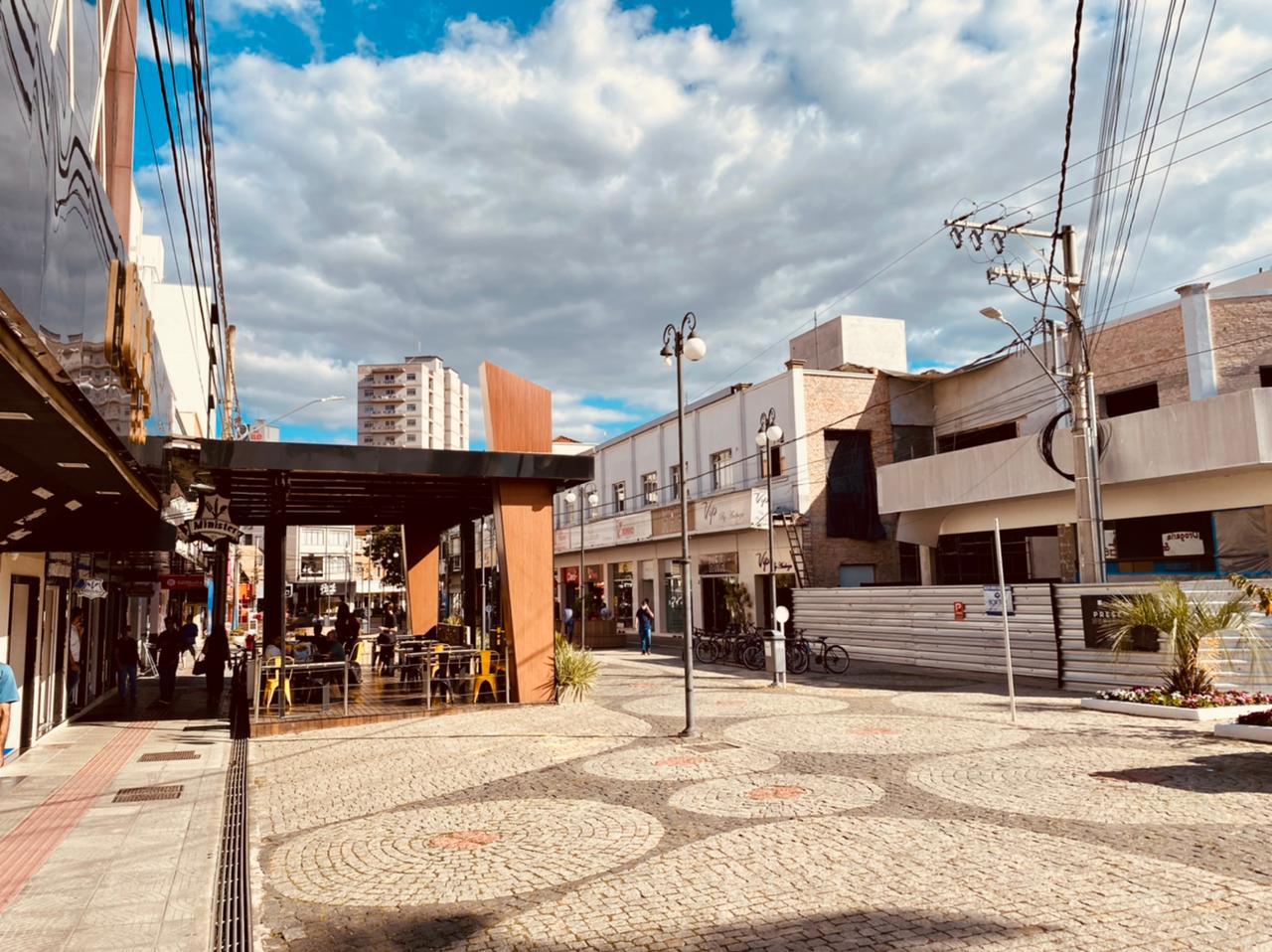 Região central de Rio do Sul - Moisés Stuker / NDTV Blumenau