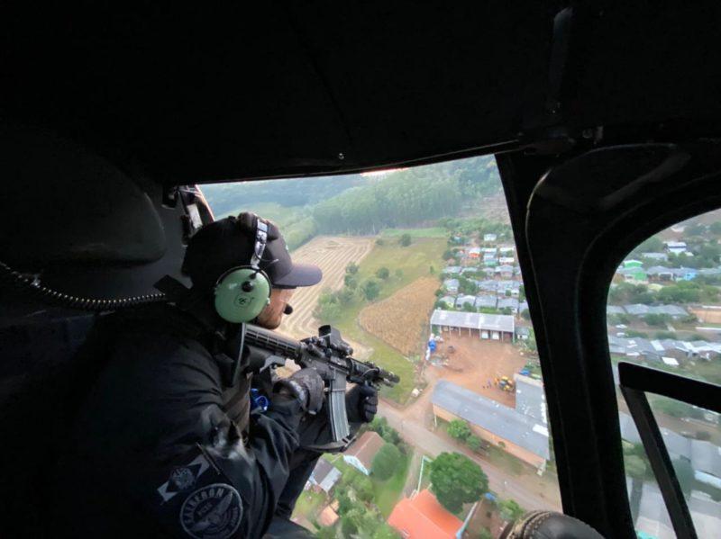 Equipes do SAER participaram da operação. – Foto: SAER/Divulgação/ND