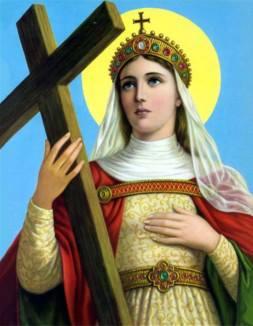 Helena pesquisou, em penitência, e encontrou a Cruz de Cristo. – Foto: arquivo