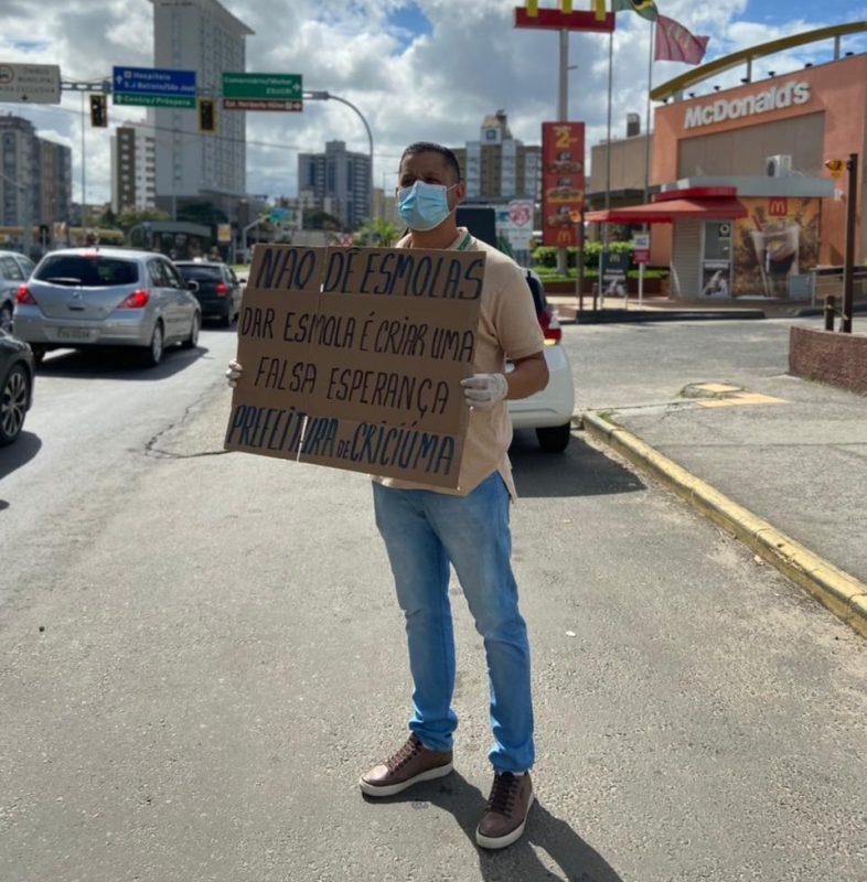 Bruno Ferreira Secretário de Assistência Social de Criciúma – Foto: Divulgação/Assessoria