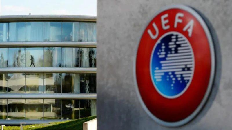O Comité Executivo da UEFA realizou a reunião nesta segunda-feira (19) – Foto: UEFA/Divulgação/ND