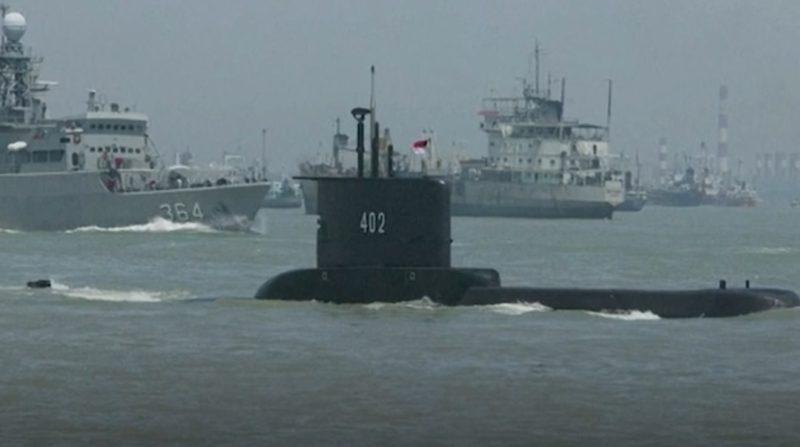 Submarino estava desaparecido desde a quarta-feira (21). – Foto: Aljazeera/Reprodução