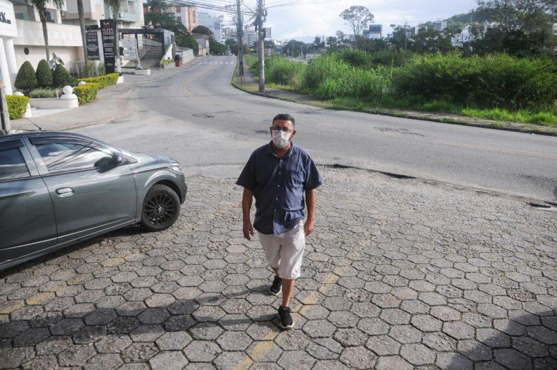 Comerciante entende que momento é propício para obra na Antônio Edu Vieira