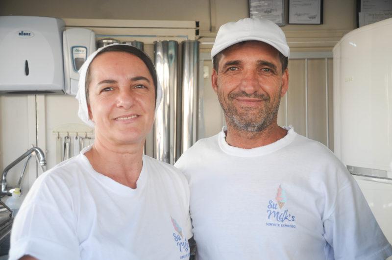Sueni tem 49 anos e Luiz Carlos, 59 – Foto: Leo Munhoz/ND