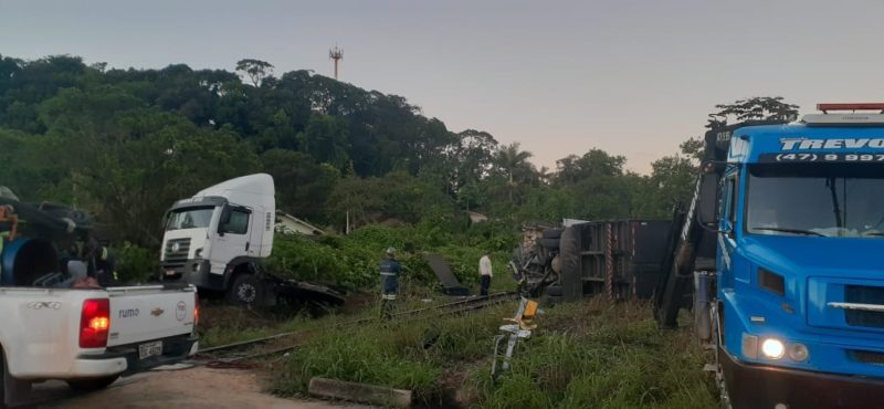Apesar dos danos e do susto ninguém se machucou – Foto: Thay Silva/Facebook/ND