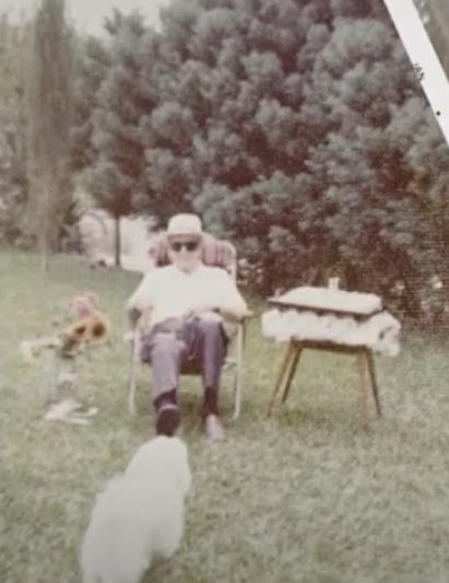 """""""Tio Tommy"""" veio para a América do Sul na época da 2ª Guerra Mundial – Foto: Reprodução/NDTV RecordTV"""