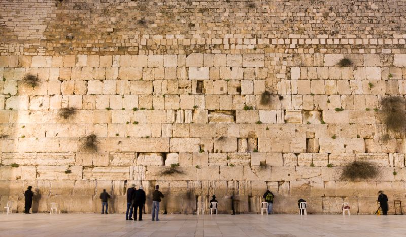 Muro das Lamentações, em Jerusalém - Divulgação - Divulgação/Rota de Férias/ND