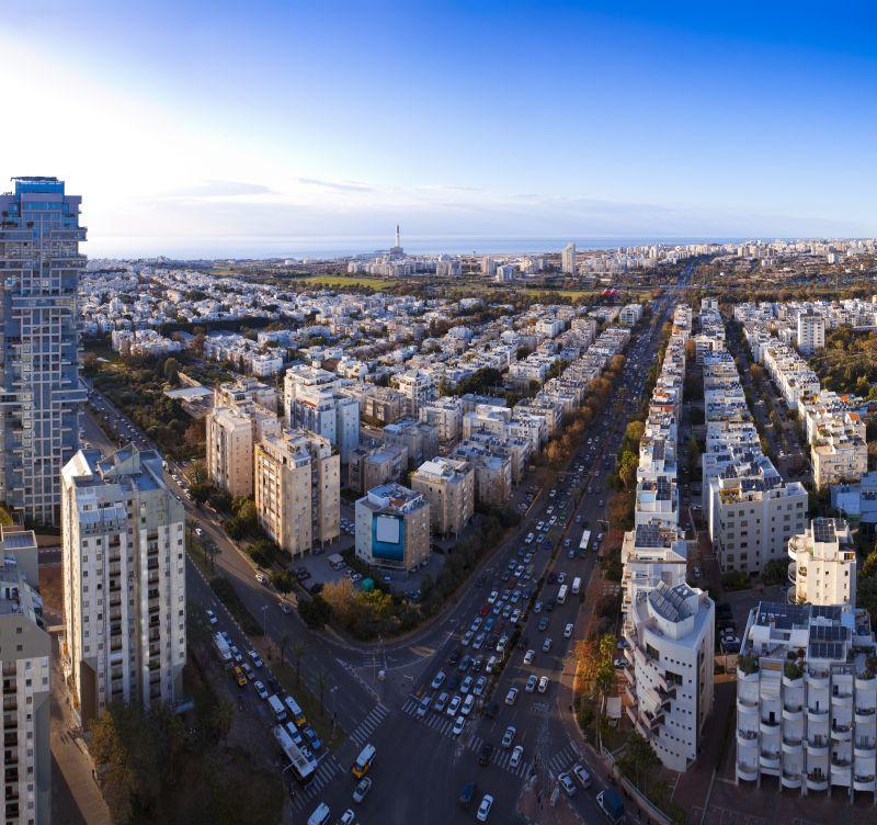 Vista aérea de Tel Aviv - Divulgação - Divulgação/Rota de Férias/ND