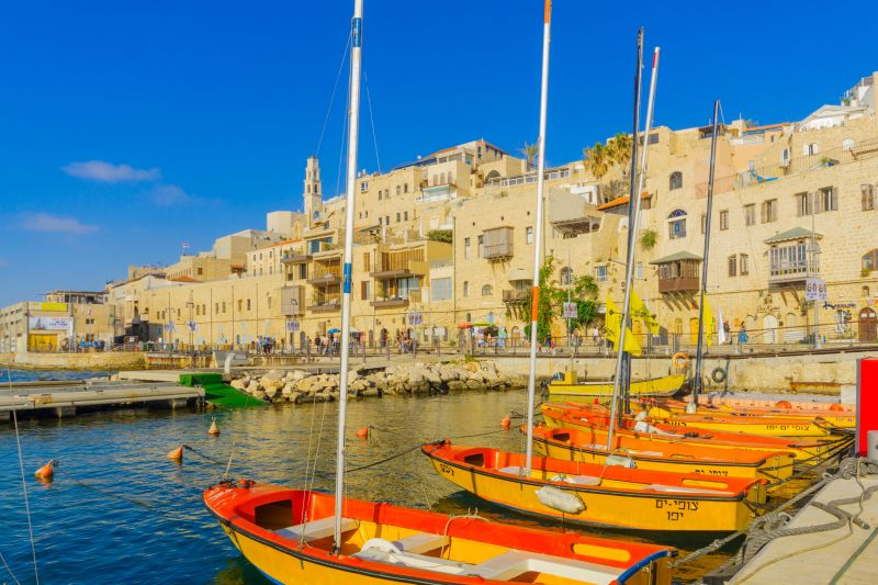 Porto de Jaffa, em Tel Aviv - Divulgação - Divulgação/Rota de Férias/ND