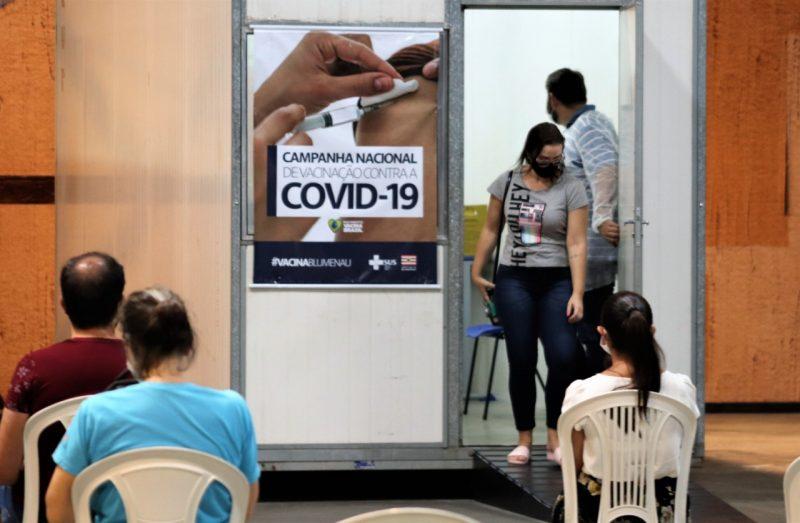 Vacinação em Blumenau – Foto: Divulgação/Eraldo Schnaider/Prefeitura de Blumenau