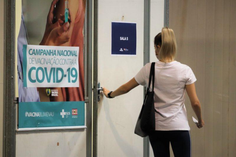 Blumenau reabre agendamento de vacinação para idosos com mais de 60 anos – Foto: Divulgação/Eraldo Schnaider/Prefeitura de Blumenau