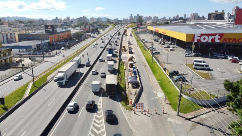 Acesso da BR-101 à Via Expressa ficará fechado; veja detalhes – Foto: Arteris Autopista/Divulgação/ND