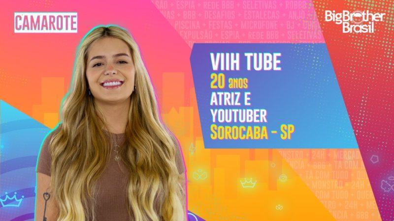 Viih Tube, participante do BBB – Foto: TV Globo/Reprodução/ND