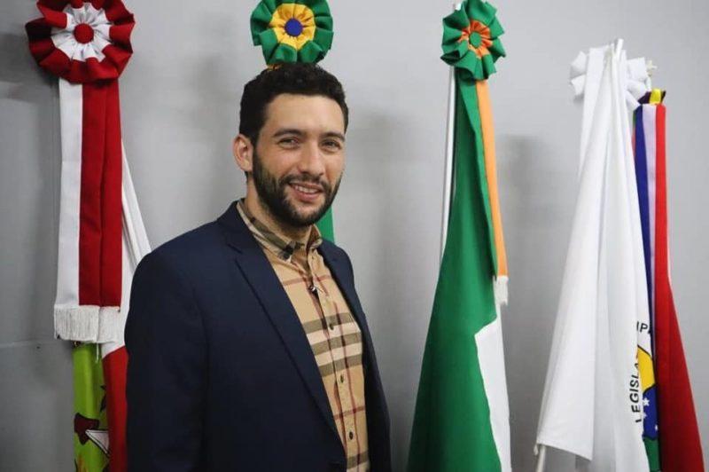 Vitor Picolli é vereador suplente de Camboriú pelo DEM – Foto: Reprodução
