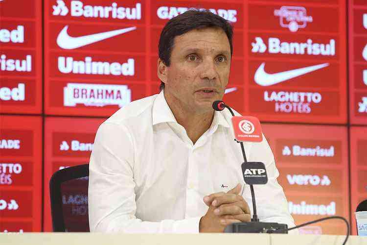 Zé Ricardo, ex-técnico do Internacional, é um dos nomes cogitados para assumir a Chapecoense – Foto: Ricardo Duarte/Internacional/Divulgação/ND