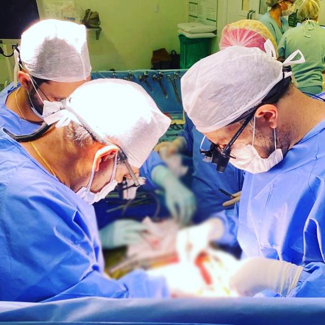 Cirurgiões cardiovasculares da Pró Cuore – Foto: Divulgação/Pró Cuore