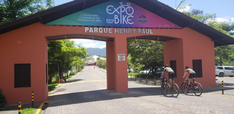 Parque Henry Paul recebe visitantes para a ExpoBike – Foto: Waldemar Neto