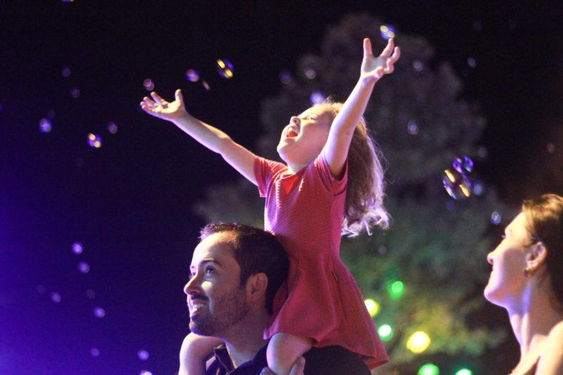 Cenas emocionam no 'Natal Encantado' de Timbó – Foto: Carol Sperb