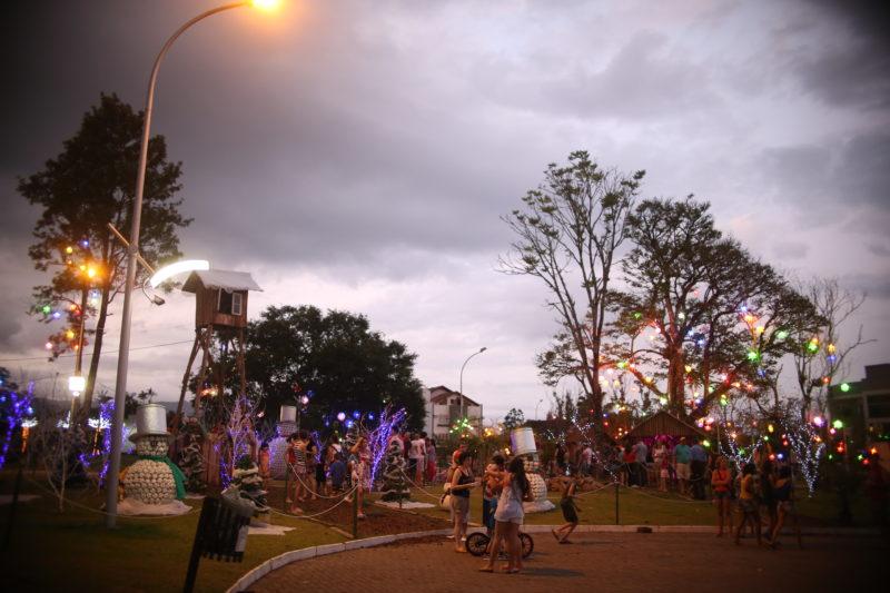Evento de Natal é um dos mais esperados do ano – Foto: Tainá Claudino dos Santos