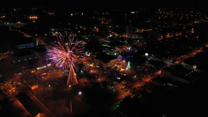 Parque Central é palco da grande festa da virada, com show nacional – Foto: R2 Imagens