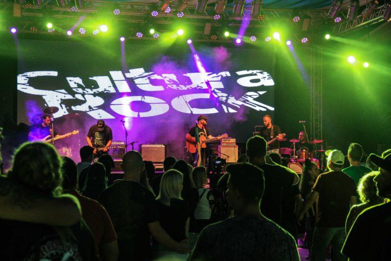 Festival de Rock reúne apreciadores do estilo – Foto: Divulgação/Turismo Timbó