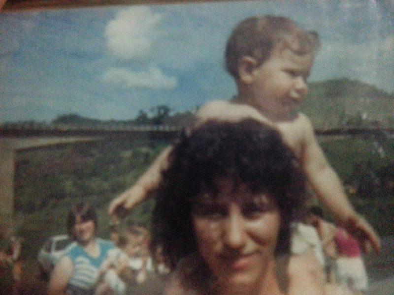 Lembranças dos abraços, do cheiro e da personalidade da mãe – Foto: Arquivo pessoal