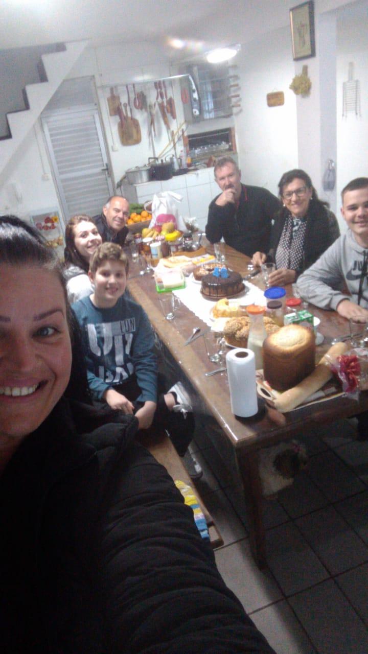 Datas comemorativas em família - Arquivo pessoal