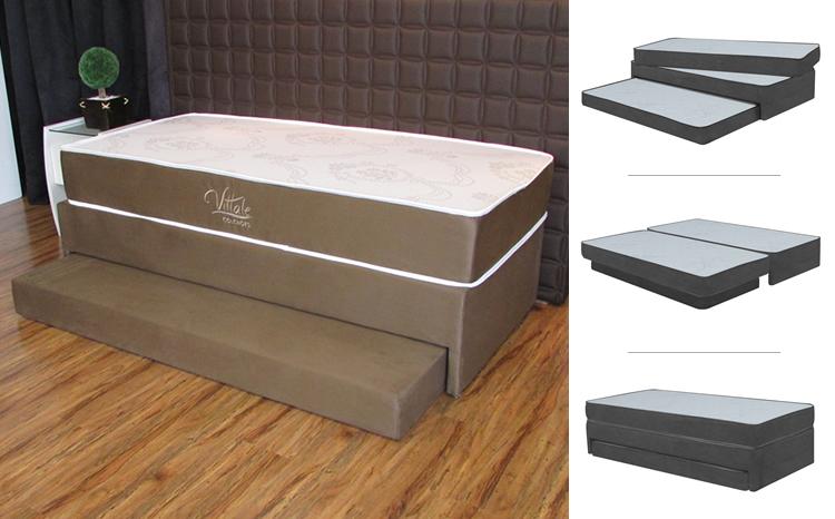 Tricama tem jeito de sofá e pode ser usada em Home Office – Foto: Divulgação