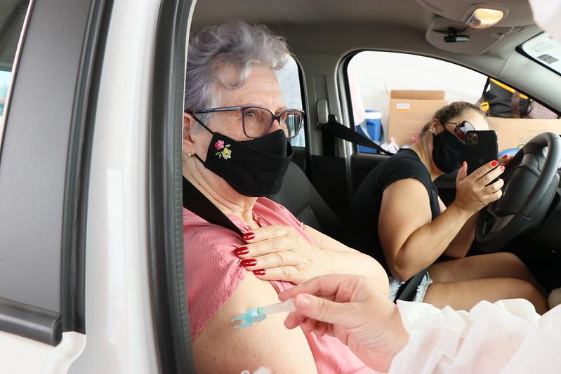 Vacina da Pfizer chega nesta segunda-feira (3) – Foto: Doia Cercal/Secom/Divulgação/ND