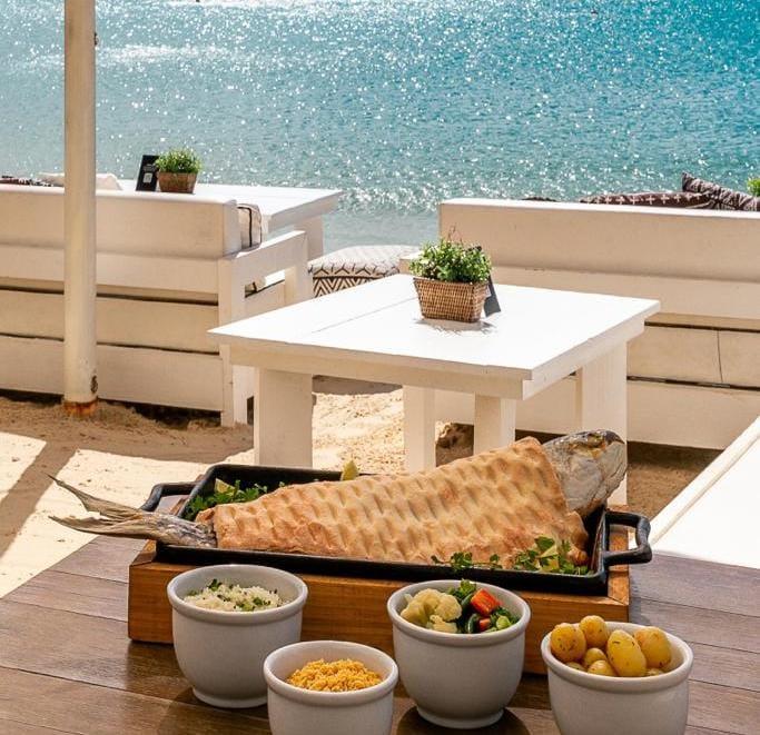 Tainha na Crosta de Sal – Foto: Restaurante Acqua Plage/Fpolis