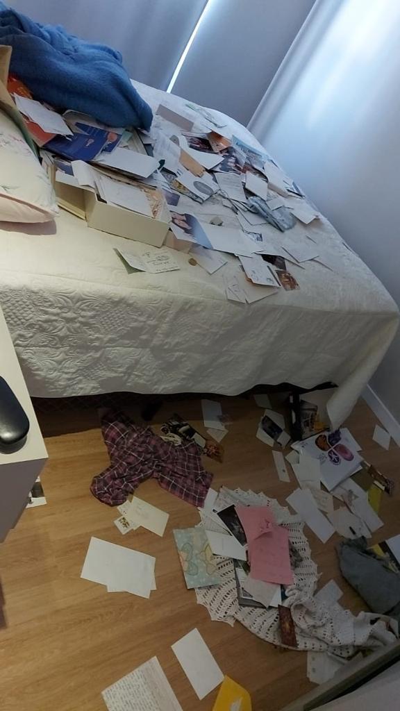 Homem invadiu apartamento na manhã do último domingo (2) no bairro Água Verde - Arquivo Pessoal/ND