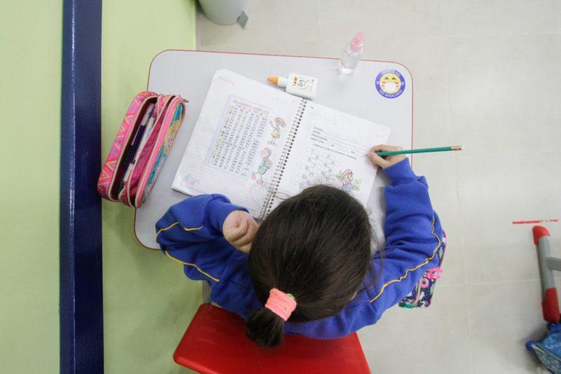 Novas regras sanitárias são divulgadas para retorno presencial nas escolas de SC – Foto: Leo Munhoz/ND
