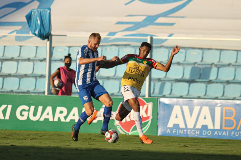 Avaí x Brusque não saíram do zero na primeira semifinal – Foto: Lucas Gabriel Cardoso/Brusque FC