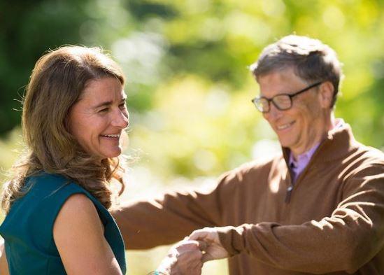 Melinda Gates e Bill Gates juntos