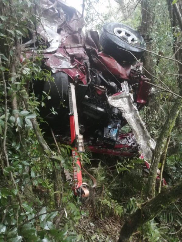 Também atenderam a ocorrência a equipe do Samu (Serviço de Atendimento Móvel de Urgência). – Foto: Corpo de Bombeiros/Divulgação/ND