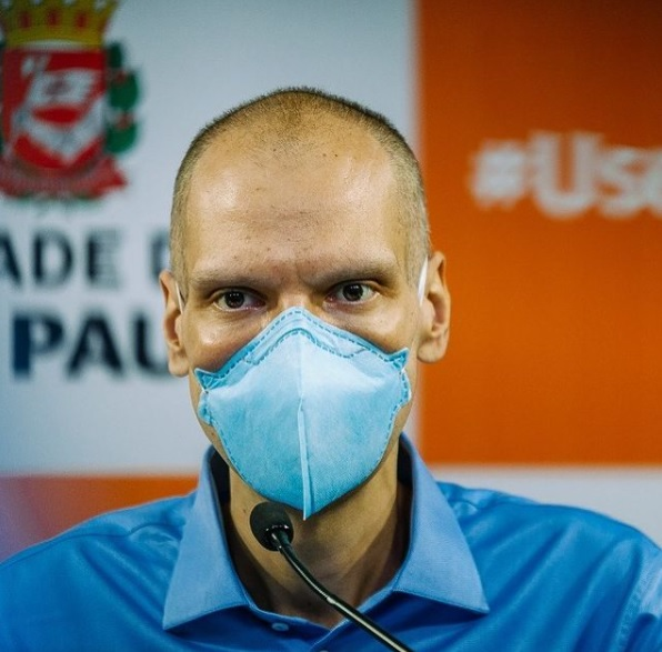 Bruno Covas se licenciou do cargo para o tratamento contra o câncer. – Foto: Reprodução/Instagram